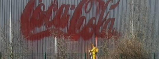 coca cola spray