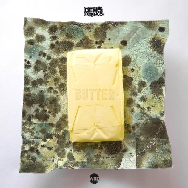 butter auf dem cover demograffics