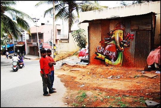 ganesha graffiti