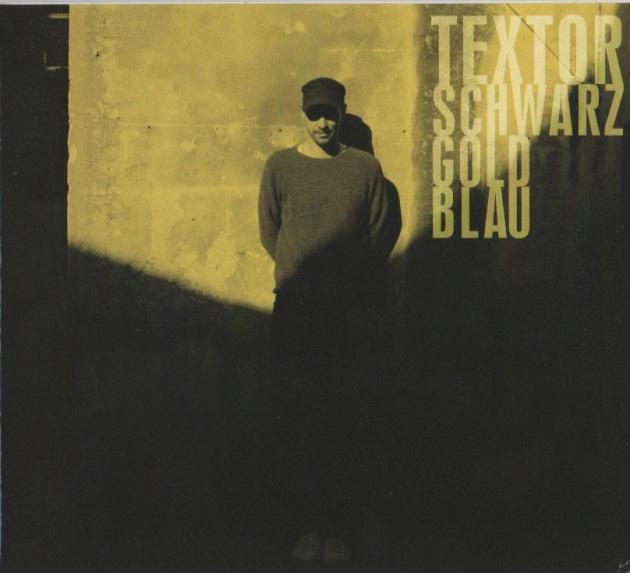 schwarz gold blau textor album cover